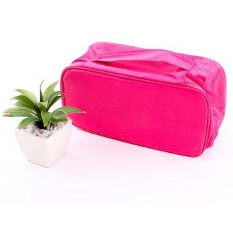 Túi đựng đồ lót du lịch cao cấp chống thấm oxford 205903 -2a (Hồng)