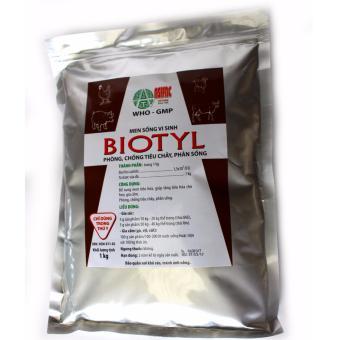 Men sống vi sinh phòng trị tiêu chảy, phân sống BIOTYL (1 kg)