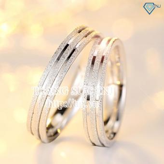 Nhẫn đôi nhẫn cặp bạc đẹp ND0146