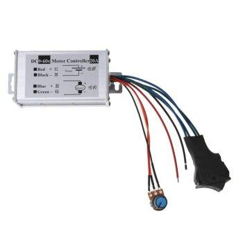Reversible DC Speed 12V24V36V48V60V Motor Driver PWM Controller (Intl:)