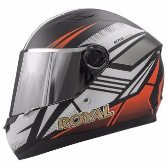 Mũ bảo hiểm Royal M136 (Tem Cam)