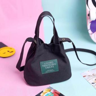 túi xách nữ thời trang living traveling (đen)