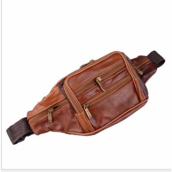 Túi bao tử da, túi đeo bụng da-TB2