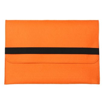 Sleeve Case Cover Bag For Apple Macbook Laptop 13inch Orange - Intl