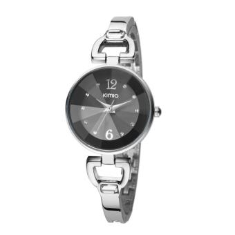 Đồng hồ nữ dây kim loại KIMIO KI055 (Đen)