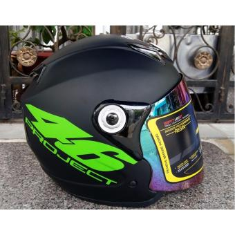 Mũ Bảo Hiểm Moto Napoli số 46 tem chuẩn Quatest 3