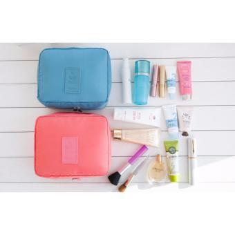 Túi đựng đồ nhiều ngăn chống thấm tiện ích du lịch (Hồng)