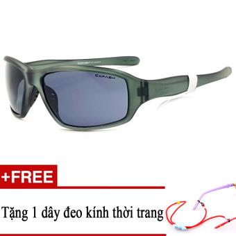 Kính mát trẻ em EXFASH EF4743 919 (Đen) + Tặng kèm 1 dây đeo kính trẻ em