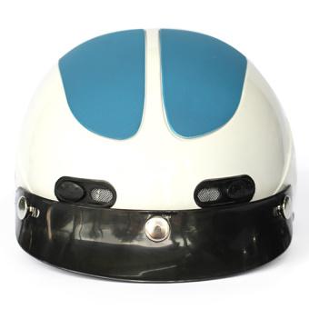 Mũ bảo hiểm GRS102 (Trắng)