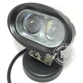 Đèn pha led trợ sáng L2 bi cầu 20w ánh sáng trắng xanh xenon đẹp lung linh gắn xe máy Thanh Khang