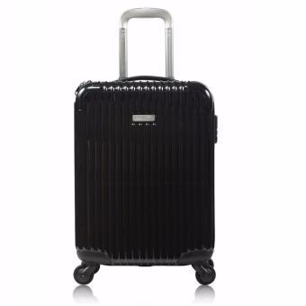 Combo vali xách tay chống va đập Sirolley Simplecarry Black + Balo, túi chéo xuất khẩu cao cấp