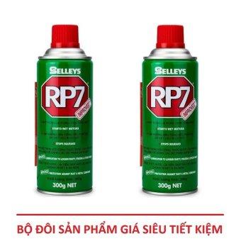 Bộ 2 Chai dung dịch tẩy rửa vết rỉ sét Selleys RP7 300Gr - 420ml