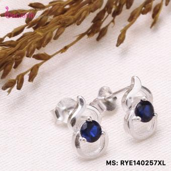 Bông tai nữ trang sức bạc S925 Italia Bạc Xinh - Hồ lô may mắn RYE140257