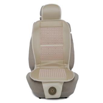 Lót ghế ô tô có quạt Auto Quoc Te HBL-G1 - (Kem)