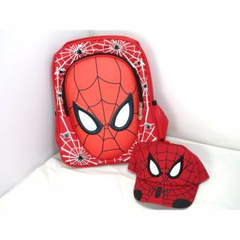 Set mũ và ba lô người nhện cho bé yêu