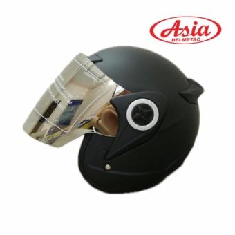 Nón bảo hiểm Asia 115 ( đen ) - hàng phân phối chính hãng