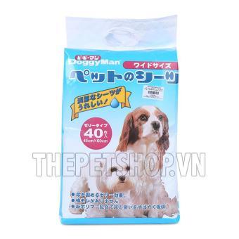 Tấm lót vệ sinh Doggy Man 45x60cm nguyên bịch (Bịch)
