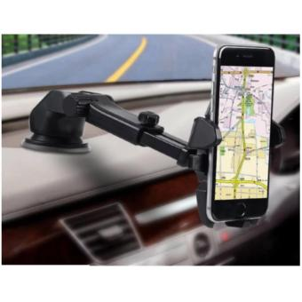 Giá đỡ kẹp điện thoại trên ôtô Long Next 360 độ cao cấp ( đen)