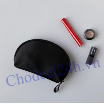 Túi mỹ phẩm tiện ích (đen)