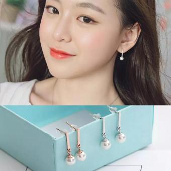 Bông tai thời trang Hàn Quốc bạc S925 (Bạc)
