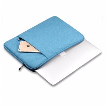 Túi chống sốc cao cấp cho Macbook 13 inch (Xanh)