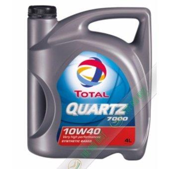 Nhớt xe ô tô Total Quartz 7000 SN 10W40 4L