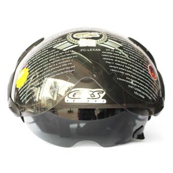 Mũ bảo hiểm 2 kính GRS 966 (Ghi)
