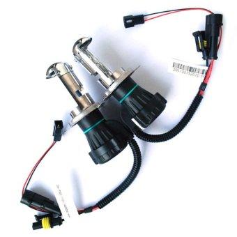 1 Pair H4 35W HI/LO Beam Bi-Xenon HID Conversion Kit Light Bulbs 10000K- - intl