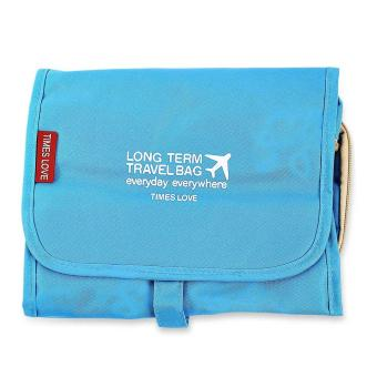 Portable Travel Cosmetic Bags Toiletry Kit Storage Pouch - intl
