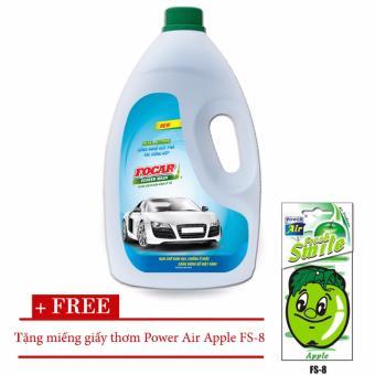 Nước rửa kính ô tô Focar Screen Wash 1.9L + tặng kèm miếng giấy thơm Power Air Apple FS-8