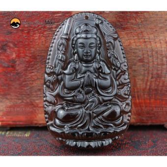 Dây Chuyền Mặt PhậtThiên Thủ Bồ Tát Đá Hộ Mệnh Người Tuổi Tý