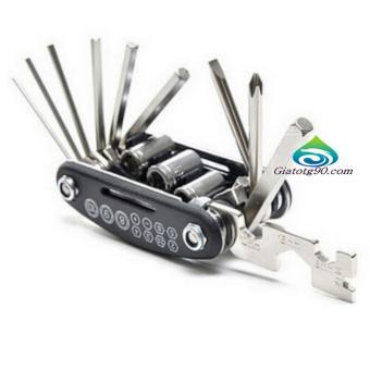 Bộ dụng cụ sửa chữa xe đạp đa năng gọn nhẹ du lịch 206346-1