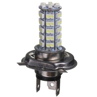 Moonar Anti-fog Dipped Headlight H4 3.5W 68-SMD White LED Light for Car