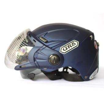 Mũ bảo hiểm GRS A966K (Tím than nhám)