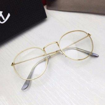 Mắt kính ngố gọng cận Nobita nam-nữ thời trang PGH(Vàng)