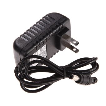 AC 100-240V Converter Adapter DC 5.5 x 2.5MM 4.5V 1A 1000mA Charger US Plug (Black)(Intl)