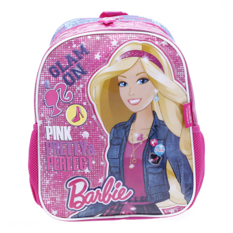 Balo học sinh trẻ em Barbie siêu nhẹ cho bé gái (BLBAGU12XVH)