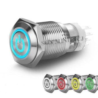 Bộ nút nhấn dùng cho các loại đèn trợ sáng mô tô 16mm