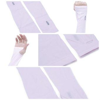Găng tay chống nắng UV Aqua Lest Lim (Hồng)