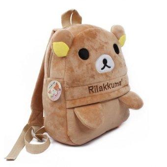 Balo hình gấu Rilakkuma nhỏ (Nâu)