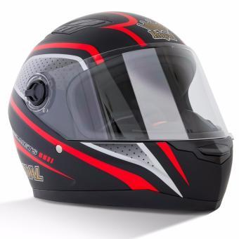 Mũ bảo hiểm Royal M136 (tem đỏ)