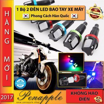1 Bộ 2 ĐÈN LED BAO TAY XE MÁY Thiết kế tại Hàn Quốc KOREA - PAIR of LED Handle Grip Tip - PEN APPLE SUPERSTORE