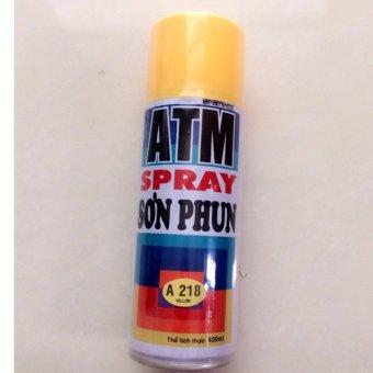 Sơn Xịt ATM Spray A218 400ml (vàng)