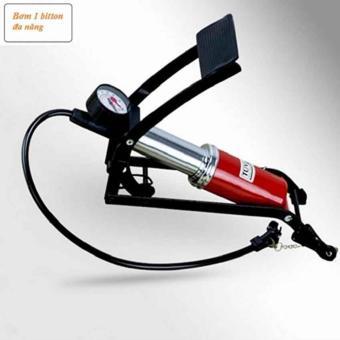 Bơm đạp chân 1 Piston dùng cho ô tô - xe máy JC 702A