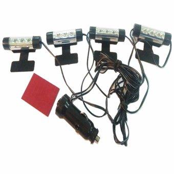 Bộ 4 đèn led soi chân cao cấp