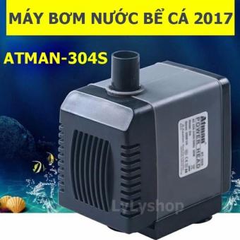 Máy bơm nước mini bể cá /hồ cá ATMAN AT-304S 8W, 800l/h - Rẻ nhất, Tốt Nhất, Mới Nhất 2017, Bảo Hành uy tín 1 đổi 1