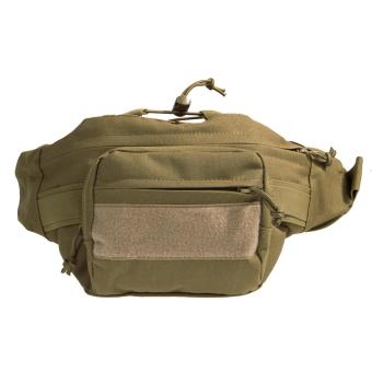 khaki Outdoor Military Tactical Waist Pack Shoulder Bag Molle Hiking Pouch