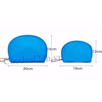 Túi đựng mỹ phẩm tiện ích ( xanh dương đậm)