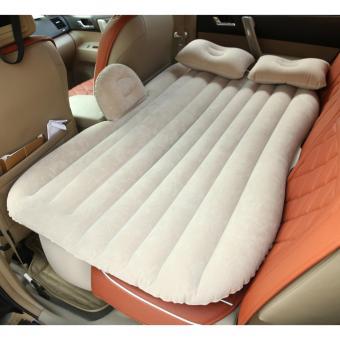 Giường đệm hơi cho oto + Kèm bơm sử dụng được trên xe