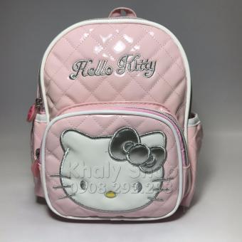 Balo đi học,đi chơi dành cho bé gái,hàng cao cấp hình Hello Kitty 20cmX25cm 50BLKT88003
